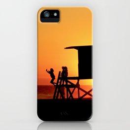 Modern End of Summer Fun In Newport Beach CA iPhone Case