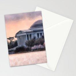 A Cherry Blossom Dawn Stationery Cards