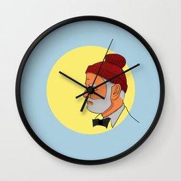 Team Zissou Wall Clock