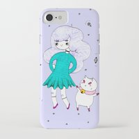 puppycat iPhone & iPod Cases featuring Bee and Puppycat  by Alxndra Cook