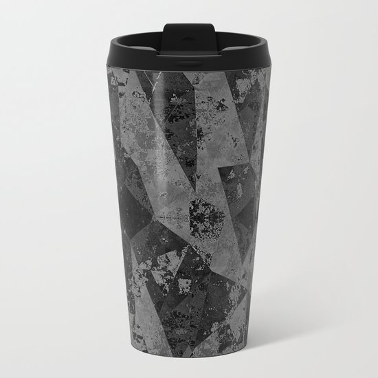 ABSTRACT ART Metal Travel Mug