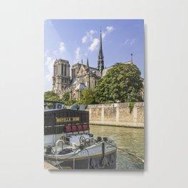 PARIS Cathedral Notre-Dame Metal Print