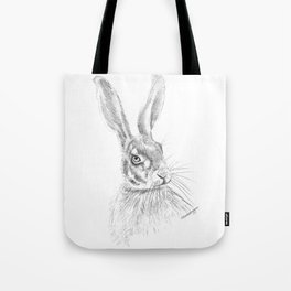Hare Sketch Tote Bag