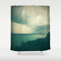 storm Shower Curtains featuring Storm by Olivia Joy StClaire