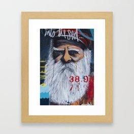 the Captain #02 Framed Art Print