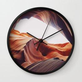 Antelope canyon 2 Wall Clock