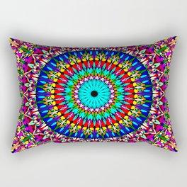 Magic Life Garden Mandala Rectangular Pillow