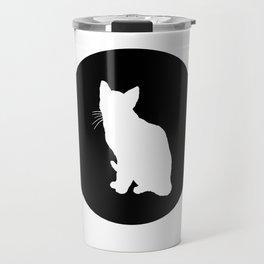 A Cat Travel Mug