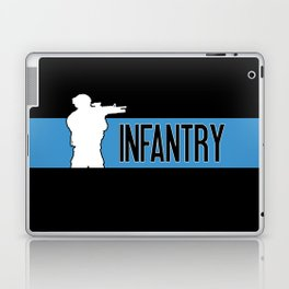 Infantry Blue Laptop & iPad Skin