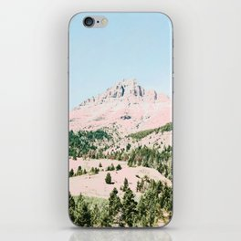 Happy Mountain #society6 #decor #buyart iPhone Skin