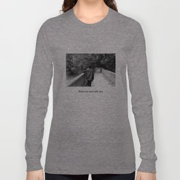 Share my mind with you. Long Sleeve T-shirt