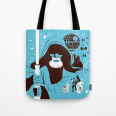 IV (Blue) Tote Bag