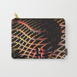 5502s-MAK Space Time Vulva Abstract Art Rendered in Acrylic by Chris Maher Carry-All Pouch