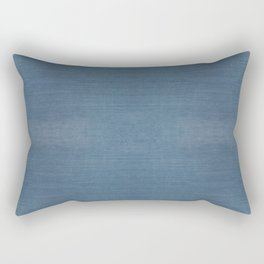 WASHED BLUE DENIM . SOLID Rectangular Pillow