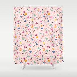 Happy Terrazo Shower Curtain