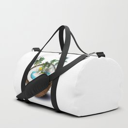 The illusion of the sea paradise Duffle Bag
