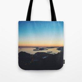 Dubrovnik Sunset Tote Bag