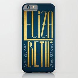 Elizabeth iPhone Case