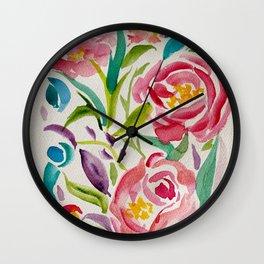 Abstract Garden Wall Clock