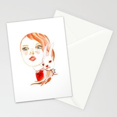 Real Beauty is without Cruelty Stationery Cards