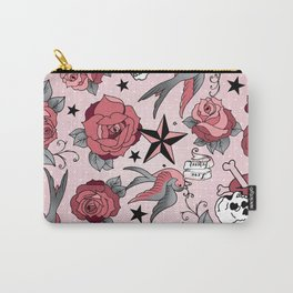Girly Tattoo Carry-All Pouch