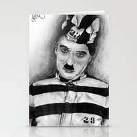 chaplin Stationery Cards featuring Chaplin by D.E.Pérez