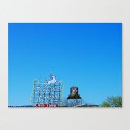 Portland Sky Canvas Print