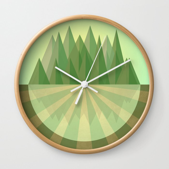 Reach your goals Wall Clock