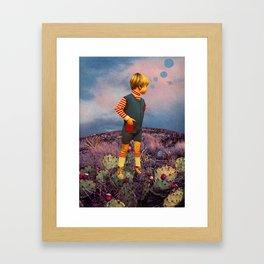 Prickled Feet Framed Art Print