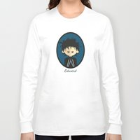 edward scissorhands Long Sleeve T-shirts featuring Edward Scissorhands by Juliana Motzko
