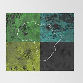 Tanzania III - Art In Support Of Kids 4 School Throw Blanket