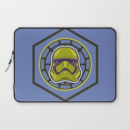 First Order TMNT Stormtrooper - Donatello Laptop Sleeve