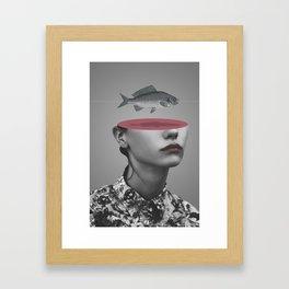 Fishing Line (2011) Framed Art Print