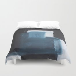 THE DEViL AND THE DEEP BLUE SEA Duvet Cover