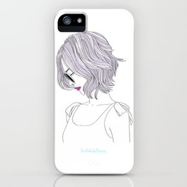 LILAHAIR iPhone Case