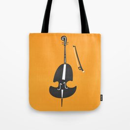 Double Bass Jazz Tote Bag