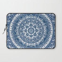 Blue Mandala Pattern Laptop Sleeve