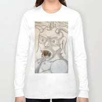 battlefield Long Sleeve T-shirts featuring Commin at ya! by Mr.Burns L16