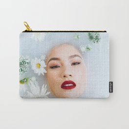 Asian Woman in Milk Bath Carry-All Pouch