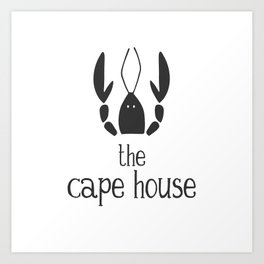 The Cape House - Cape Cod Lobster Art Print