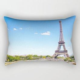 Eiffel Tower in Paris Rectangular Pillow