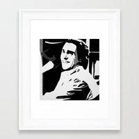 american psycho Framed Art Prints featuring American Psycho by Pop Artist