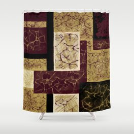 Crackle2 Shower Curtain