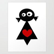 ···MuÑeQUita MoOi MoOi... Art Print