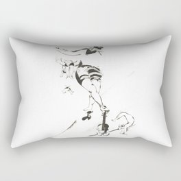 Marc Chagall, Acrobat with Violin 1924 Artwork, Posters Tshirts Prints Bags Men Women Kids Rectangular Pillow