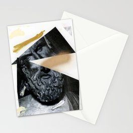 Untitled (Painted Composition 12) Stationery Cards