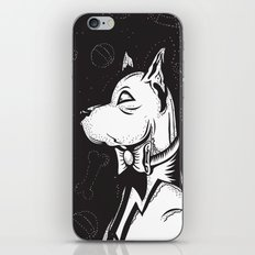 Family Portrait Dog iPhone & iPod Skin