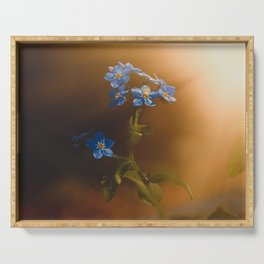 Woodland Forget-Me-Not Serving Tray