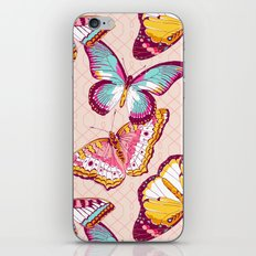 Aflutter in Blush iPhone & iPod Skin