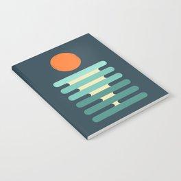 Minimalist ocean Notebook